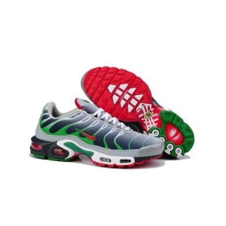 Nike TN 2018 Homme gris/vert/rouge