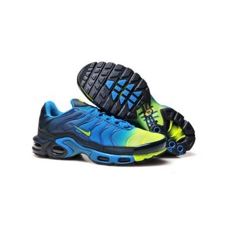 Nike TN 2018 Homme bleu/noir/jaune