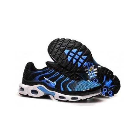 Nike TN 2018 Homme noir/bleu Pas Cher