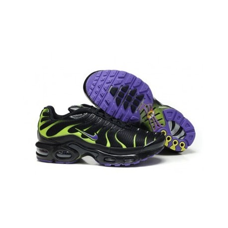 Nike TN 2018 Homme noir/vert/violet