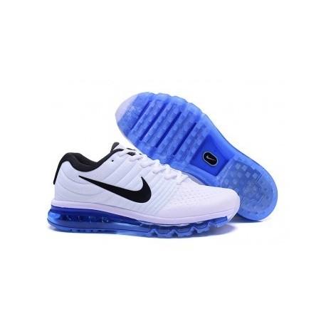 Nike Air Max 2017 Homme Blanc/Bleu