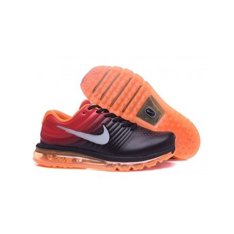 Nike Air Max 2017 Homme Noir/Orange/Rouge