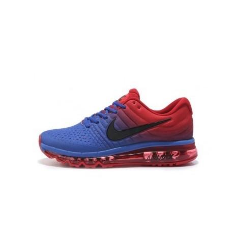 Nike Air Max 2017 Homme Bleu/Rouge