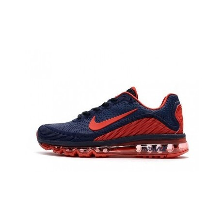 Nike Air Max 2017 Homme Navyblue/Rouge