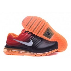 Nike Air Max 2017 Femme Noir/Rouge/Orange