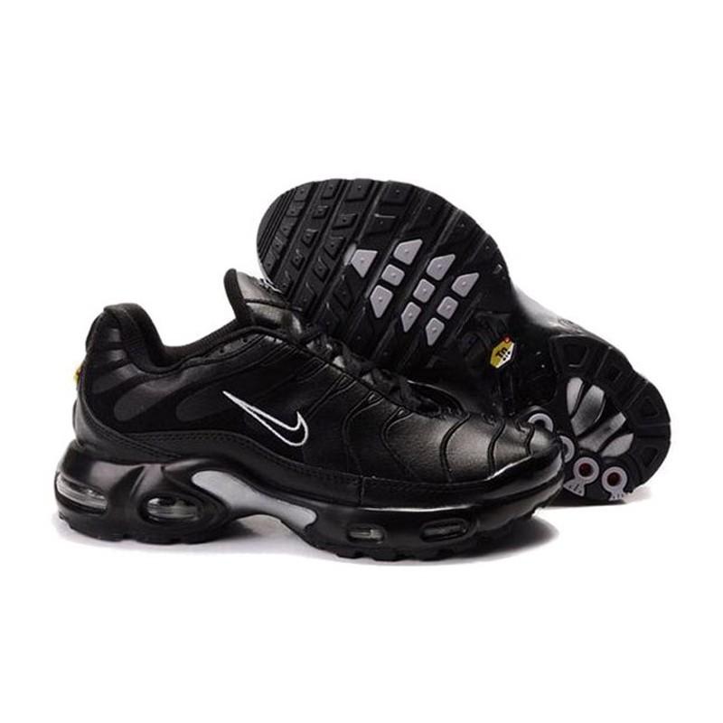 Achat Nike Air Max TN 2017 Homme Chaussures Noir/Grise Moins Cher
