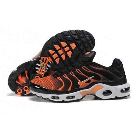 Achat Nike Air Max TN 2017 Homme Chaussures Noir/Orange à vendre