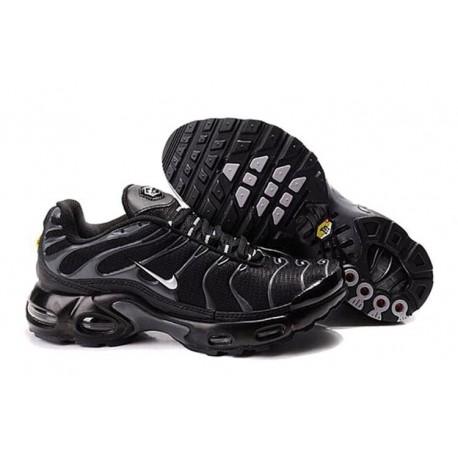 Achetez Nike Air Max TN 2017 Homme Chaussures Noir/Argent Pas Cher