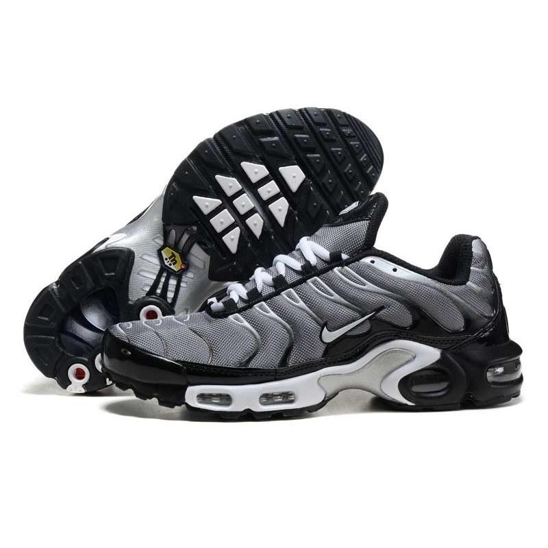 Acheter Nike Air Max TN 2017 Homme Chaussures Grise/Noir Soldes ...