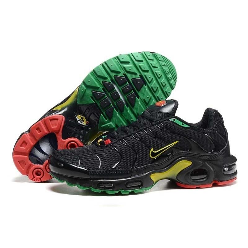 Achetez Homme Nike Air Max TN Chaussures Noir Jaune Verte Rouge ...