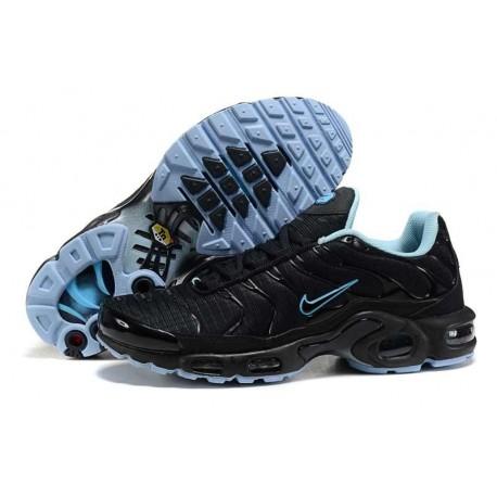 Achetez Nike Air Max TN 2017 Homme Chaussures Noir/Bleu Clair à vendre