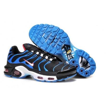 En ligne Homme Nike Air Max TN Chaussures Noir Bleu France Pas Cher