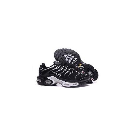 Nouveau Nike Air Max TN 2017 Homme Chaussures Blanche/Noir Pas Cher