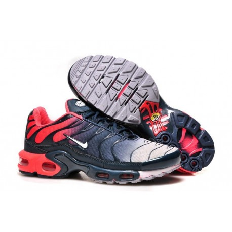 En ligne Homme Nike Air Max TN Chaussures Rouge Marine Blanche France Soldes