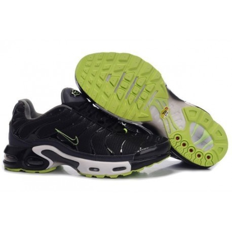 Acheter Homme Nike Air Max TN Chaussures Noir Verte France Soldes