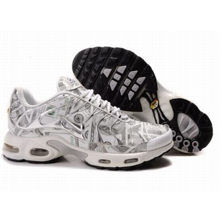 Acheter Homme Nike Air Max TN Chaussures Blanche France