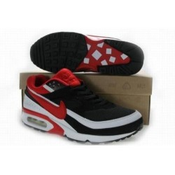 Acheter Homme Nike Air Max Classic BW Noir Blanche Rouge Chaussures Soldes