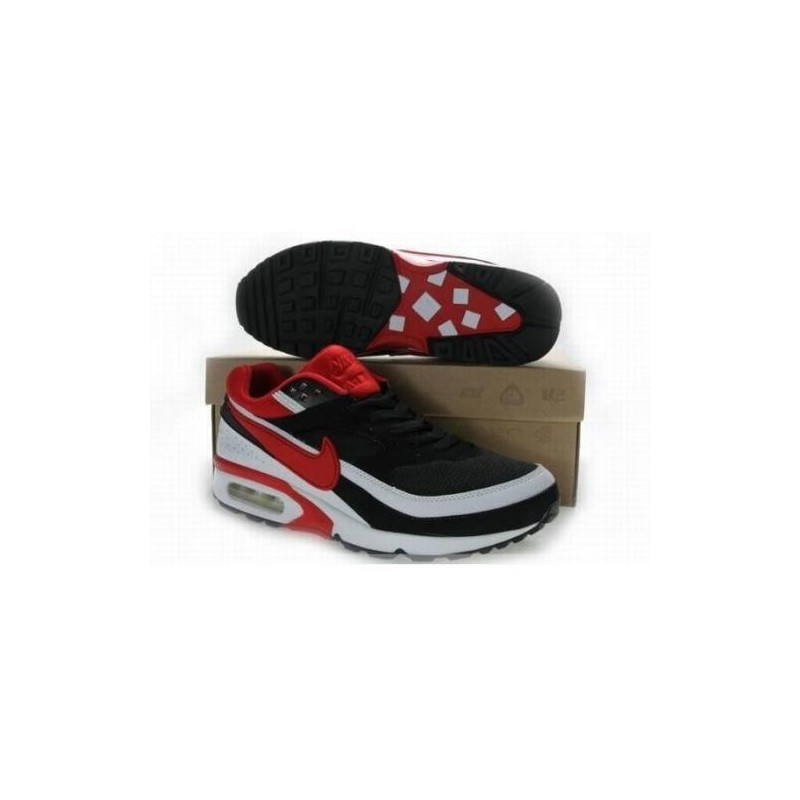 huge selection of cdf06 70799 Acheter Homme Nike Air Max Classic BW Noir Blanche Rouge Chaussures Soldes