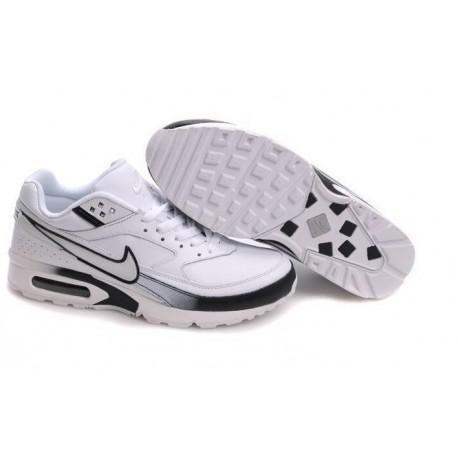 En ligne Homme Nike Air Max Classic BW Blanche Noir Chaussures a vendre
