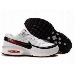 Achetez Homme Nike Air Max Classic BW Blanche Noir Dull-Rouge Chaussures à vendre
