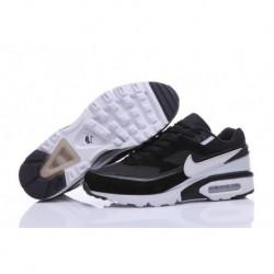 Achetez Homme Nike Air Max BW Premium Chaussures de Running Noir/Blanche 819523-065 Moins Cher