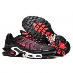 Achat Nike Air Max TN 2017 Femme Chaussures Noir Rouge France Soldes