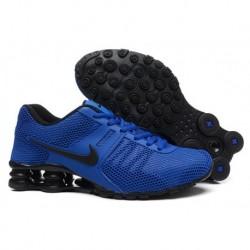 Nike Shox Chaussures respirantes à bras rétractable Nike Shox Royal Bleu/Noir