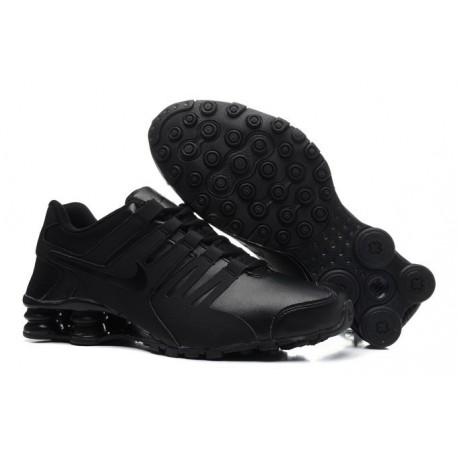 Chaussures en cuir Nike Shox Current Homme s Noir