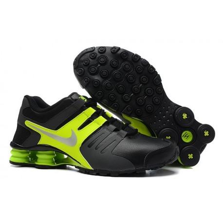 Chaussures en cuir pour hommes et femmes Nike Shox