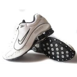 Chaussures Nike Shox Monster Homme Blanc/Noir/Argent
