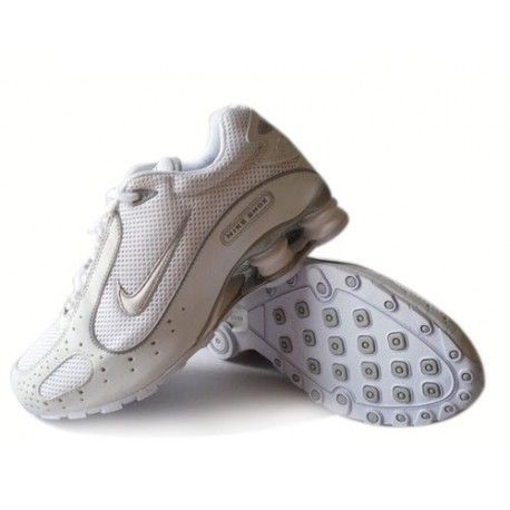 Nike Shox Monster Chaussures Hommes Blanc/Gris
