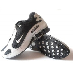 Hommes Nike Shox Monster Blanc/Chaussures noires