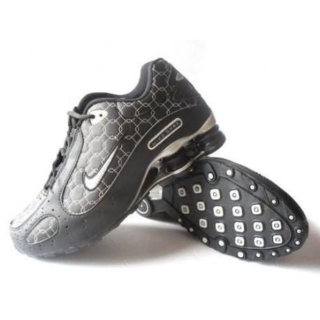 Noir/argent Homme Nike Shox Monster Chaussures
