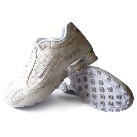 Chaussures Hommes Nike Shox Monster Blanc/Argent