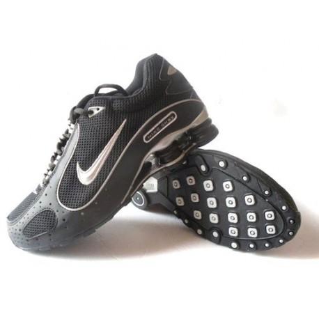 Chaussures Nike Shox Monster Hommes Noir/Argent
