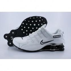 Chaussures de course Nike Shox NZ pour Homme/Blanc