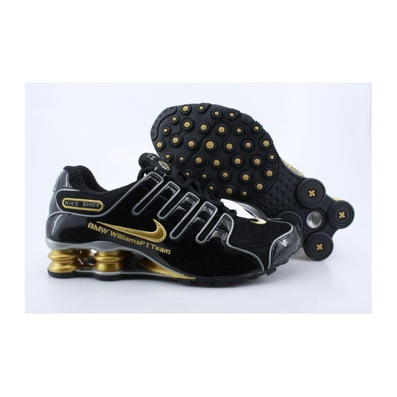 Nike Shox NZ Chaussures de course homme NoirOr
