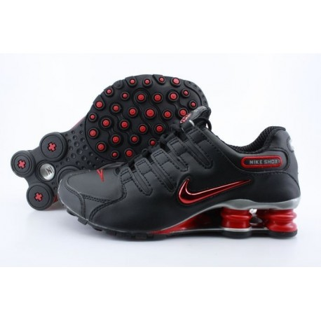 online store bd523 ed52b Homme Noir Crimson Nike Shox NZ Running Chaussures