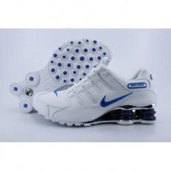 Chaussures de course Nike Shox NZ Homme Blanc/Bleu Royal
