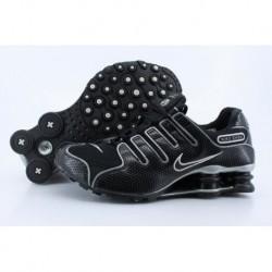 Nike Shox NZ Noir/Blanc Hommes/Femmes Chaussures de course