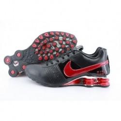 Homme Noir/Crimson Nike Shox OZ D Chaussures