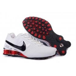 Blanc/Noir Hommes Nike Shox OZ D Chaussures