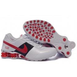 Nike Shox OZ D Chaussures Hommes Blanc/Rouge/Noir