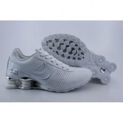 Homme Nike Shox OZ D Toutes les chaussures Blanc/argent