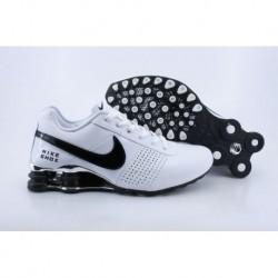 Hommes Blanc/Noir Chaussures Nike Shox OZ D