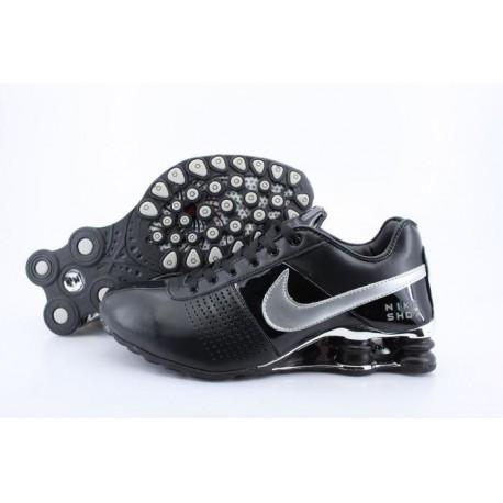 Homme Nike Shox OZ D Noir/Chaussures Argent