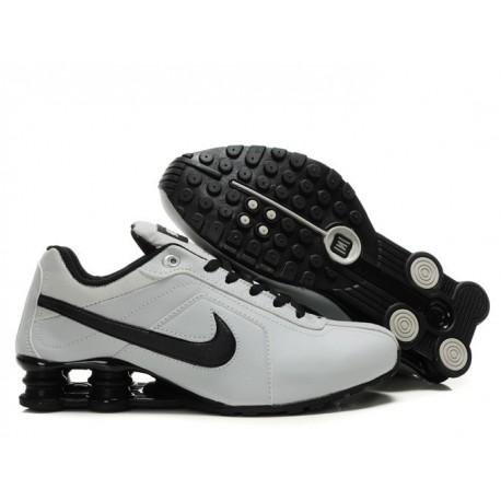 Chaussures de course pour homme Nike Shox R4 Beige/Noir