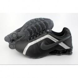 Chaussures de course Nike Shox R4 Noir/Argent pour homme