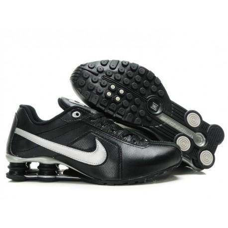 Chaussures de course Nike Shox R4 Homme Noir/Argent